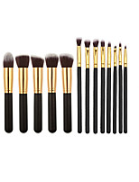 New 13PCS Makeup Brush Set Cosmetic Foundation Blending Pencil Brushes Kabuki