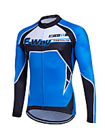 Sports® Cycling Jersey Women's / Men's / Kid's / Unisex Long SleeveBreathable / Quick Dry / Front Zipper / Reflective Strips /