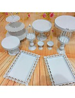 Wedding Party Party Tableware-10Piece/Set Cake Accessories Tag Stainless Steel Classic Theme