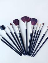New 13Pcs Black Professional Makeup Suits