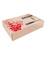 желтый цвет другой материал упаковки&отправка трудно печать упаковки картонные коробки пакет из шести
