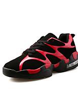 Da donna-Sneakers-Casual / Sportivo-Punta arrotondata-Piatto-PU (Poliuretano)-Bianco / Nero e rosso / Nero e bianco