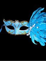 Polietileno Decoraciones de la boda-1Piece / Set Máscara Cumpleaños Tema de Cuento de Hadas Blanco / Azul / MoradoPrimavera / Verano /