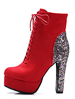 Women's Boots Fall / Winter Heels / Fashion Boots / Bootie / Comfort / Combat Boots / Pointed Toe Leatherette