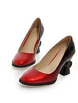 Women's Heels Spring / Summer / Fall / Winter Heels PU / Patent Leather Outdoor / Dress / Casual Platform Other/ Almond