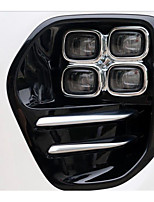 caixa de luz de nevoeiro KX5 frente kia luz frontal de nevoeiro luz de nevoeiro moldura decorativa 4 especiais buraco