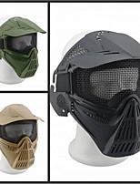 toda la cara del alambre de acero de nylon cs gran campo máscara de hierro táctico neta 07 escudo
