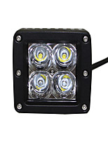 1PCS Super Bright Lightness IP68 20W CREE 4X4LED WORK  LIGHT
