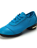 Non Customizable Women's Dance Shoes Synthetic Synthetic Dance Sneakers l Practice / Beginner Black / Blue / Red