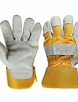 Специальные средства защиты сварщика труда кожаные перчатки анти-ошпаривания (один размер)