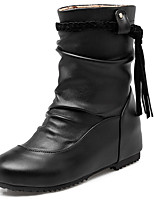Women's Shoes  Fall / Winter Riding Boots / Fashion Boots Boots Outdoor / Work & Duty / Casual Low Heel TasselBlack /504