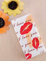 100% virgin pulp 50pcs Red Lips Wedding Napkins