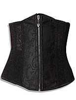 cordón caliente mujeres atractivas tapas de ropa interior mas pechugona de acero sobre el vestido del corsé del busto del corsé cincher de