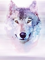 JAMMORY 3D Wallpaper For Home Wall Covering Canvas Material Adhesive required Mural Color Wolf3XL(14'7''*9'2'')