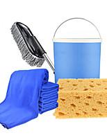 Automotive Supplies Cleaning Kit Car Wash Wax Trailers Telescopic Pole Folding Bucket