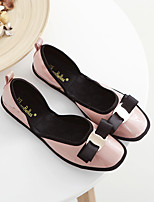 Women's Sandals Spring / Summer / Fall Flats PU Casual Flat Heel Bowknot Black / Pink / Gray Others