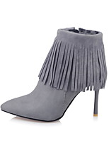 Women's Boots Fall / Winter Heels / Platform / Riding Boots / Fashion Boots / Comfort /  Pointed Toe Leatherette