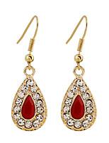 Lureme®Fine Jewelry Korean Fashion Charms Rhinestone Zinc Alloy Earrings