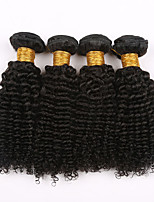 Brazilian Virgin Hair Kinky Curly 7a Brazilian deep Curly Hair Weaves 4 Bundle Afro Kinky Curly Human Hair Weave