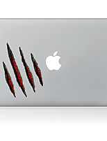 Red Hole Decorative Skin Sticker for MacBook Air/Pro/Pro with Retina