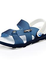 Garçon-Décontracté-Bleu / Vert / Bleu royal-Talon Plat-Sandales-Sandales-Polyuréthane