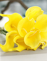 Mini Callas Simulation Flowers Wholesale Foreign Trade Speed Sell Tongjia Wedding Bouquet Home Decoration