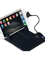 gel mobile silice téléphone antidérapant aspiration magnétique universel de charge support mobile de téléphone de soutien de navigation du
