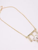 LGSP  Necklace Pendant Necklaces Jewelry Alloy Daily Gold 1pc Gift