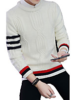 2016 autumn and winter sweater male New SWEATER MENS LONG SLEEVED striped Korean youth