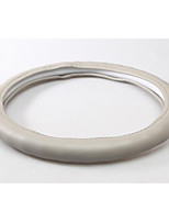 Leather Steering Wheel Cover Slip Odorless Sweat Feel Comfortable And Durable