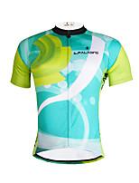 PALADIN Moto/Ciclismo Blusas Homens Manga CurtaRespirável / Resistente Raios Ultravioleta / Secagem Rápida / Compressão / Materiais Leves