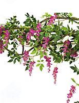 200CM Silk Wisteria Flower Rattan Home Decoration  Artificial Flower