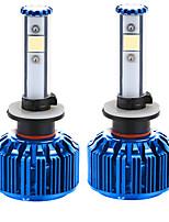 liancheng® 60w 6000lm 9 ~ 32V высокая яркость Cree COB светодиодные фары комплект-880/881 6k 8k для автомобиля, внедорожных, UTV,