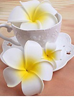 Donne Resina Copricapo-Matrimonio Ghirlande di fiori 1 pezzo Bianco Fiore 50cm
