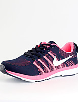 Women's Shoes Tulle Spring / Fall Comfort Sneakers Casual Flat Heel  Pink / Orange Sneaker