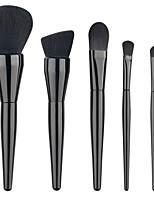Hot 5Pcs Pro Makeup Blush Eyeshadow Blending Set Concealer Cosmetic MakeUp Brushes Tool Eyeliner Lip Brushes