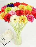 Hi-Q 1Pc Decorative Flowers Daisies Wedding  Home Table Decoration Artificial Flowers