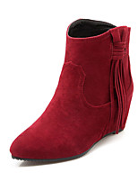 Women's Shoes  Wedges / Fashion Boots Boots Outdoor / Office & Career / Casual Wedge Heel OthersBlack /  &c-16