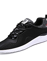 Men's Shoes Fashion Breathable Athletics Casual Fabric Fashion Sneakers Black / Blue / Grey