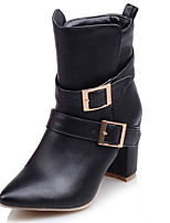 Women's Shoes  Fall / Winter Fashion Boots / Combat Boots Boots Office & Career /  Casual Chunky Heel/9-5