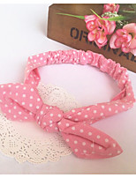 Girls Hair Accessories,All Seasons Cotton Blends Pink / Purple / Red