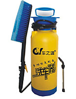 Manually Portable Household Washing Tools Car Wash 8 Liters Blue With A Brush