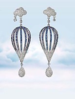 Drop Earring Jewelry 1 pair Fashionable Alloy Silver Daily / Casual