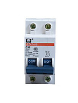 Miniature Circuit Breaker(Model:DZ47-63  2P ,Breaker Rated Current: 10A)