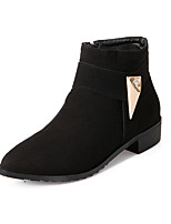 Women's Shoes    Fashion Boots Boots Outdoor / Office & Career / Casual Low Heel OthersBlack / Yellow /
