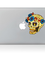Candle Skeleton Decorative Skin Sticker for MacBook Air/Pro/Pro with Retina