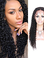 8A Lace Front Human Hair Wigs Kinky Curly Lace Front Wigs Middle Part Lace Wigs For Black Women