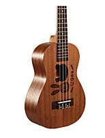21 inch kleine gitaar vier-snarige gitaar