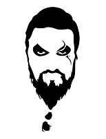 Wall Stickers Wall Decals Style Khal Drogo PVC Wall Stickers