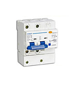 High Breaking Leakage Protection Switch(Model:DZ47LE-100  2P ,Breaker Rated Current: 100A)